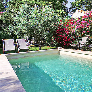 Holidays in Provence, villa with private pool in Maussane les Alpilles