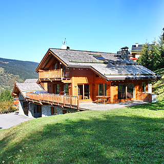 Chalet for rent for holidays in Méribel with Coins Secrets