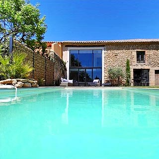 Farmhouse with heated private pool to rent for holidays in Sainte cécile les Vignes, Provence